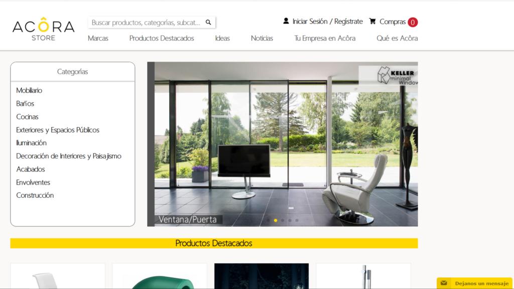 Sitio Web de Acora