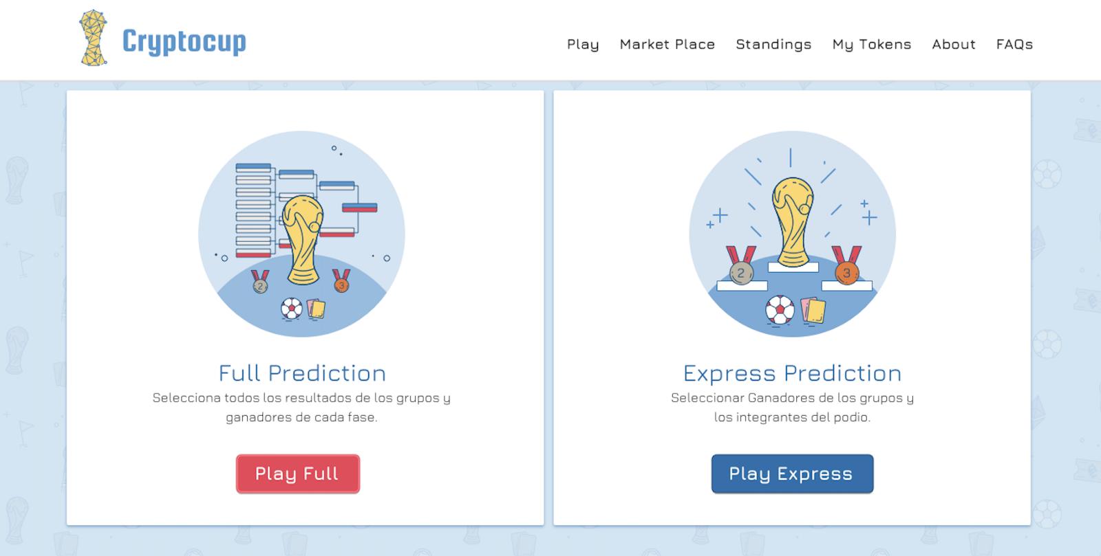 Cryptocup el primer juego de predicciones de la Copa Mundial del Blockchain.