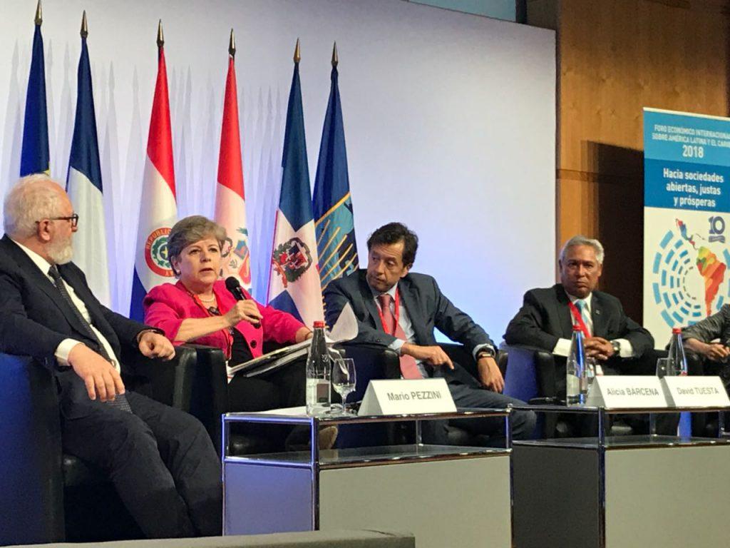 Foro Económico Internacional de América Latina y el Caribe 2018 propone utilizar la cuarta revolución industrial para maximizar el potencial de la región.