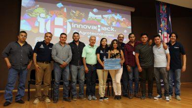Durante dos días en el InnovaHack 2018 Agroindustria, universitarios integraron novedosas propuestas para el desarrollo del campo de los cuales seleccionaron las cuatro mejores ideas para premiarlos.