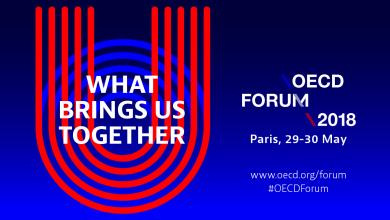 """La OCDE Week 2018 reunirá diversas actividades en pro de las políticas públicas para el bienestar. Tendrá lugar en el Centro de Conferencias de la OCDE en París, Francia, del 29 al 30 de mayo de 2018. Y el tema central será """"Lo que nos une""""."""
