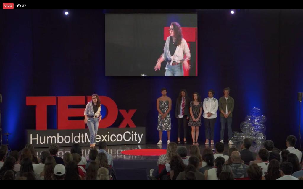 TEDx HumboldtMexicoCity 2018 ¿Qué significa vivir fuera de la burbuja? Salir de la zona de confort, atreverte a pensar diferente, ser creativo, auténtico y disruptivo.