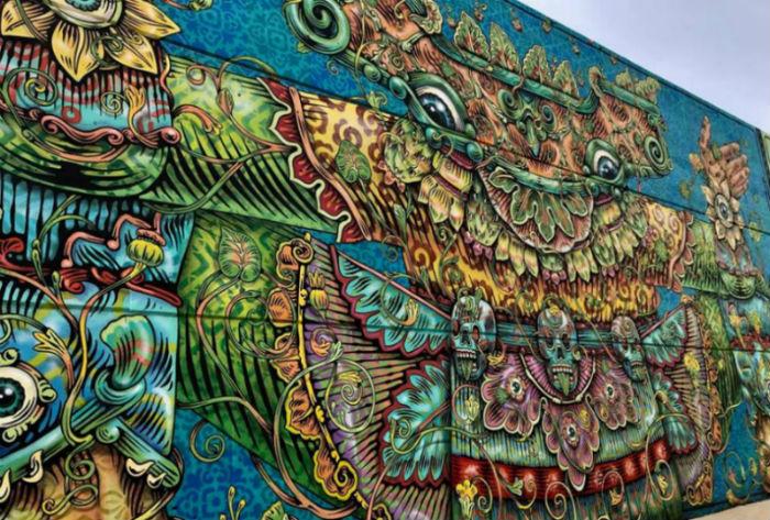 Arte Urbano: Central de Muros