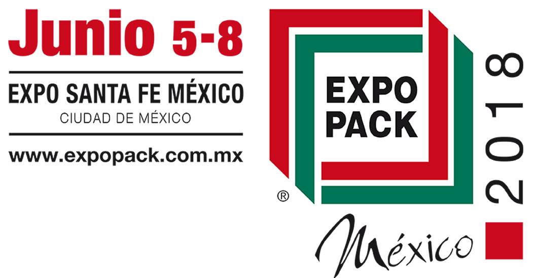 EXPO PACK México 2018, en Expo Santa Fe Ciudad de México del 5 al 8 de junio.
