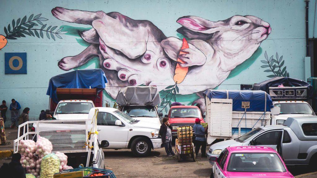Arte Urbano Central de Abastos