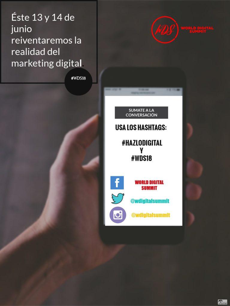 World Digital Summit (WDS) 2018 reconoce lo que necesita tu empresa para destacarse en el espacio digital