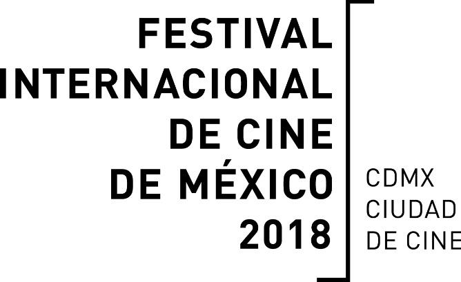 Logotipo del Festival Internacional de Cine de México 2018