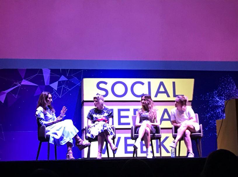 PANEL GIRLPOWER hablando de la Tecnología como agente de cambio social en SMWMéxico.