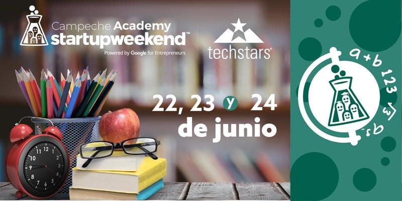 Techstars Startup Weekend Academy Campeche 2018 se realizará del 22 al 24 de junio, durante 54 horas desarrollarás y perfeccionarás tu proyecto emprendedor.