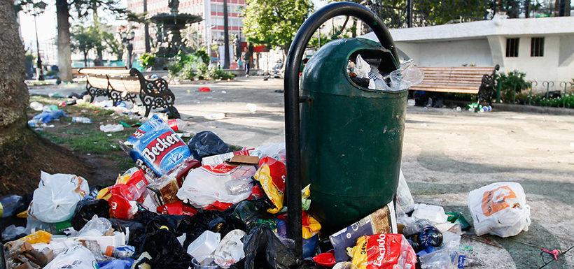 combustible con basura