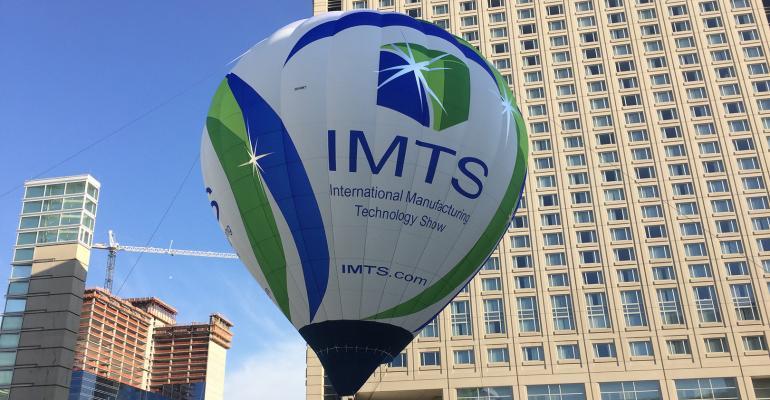 IMTS exposición de tecnología