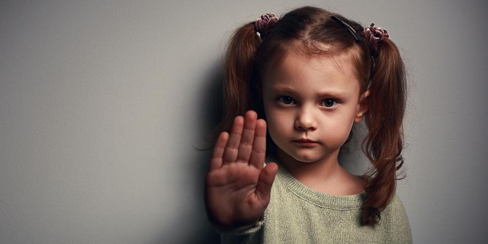 No más violencia infantil