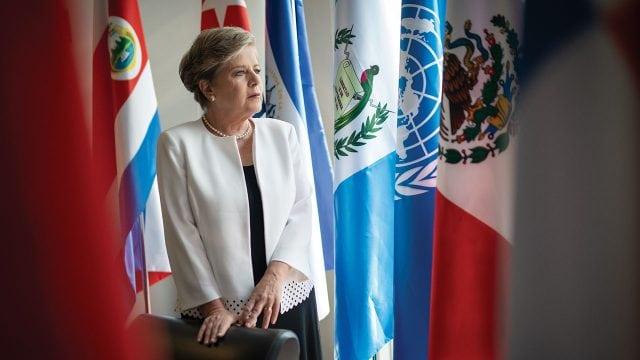 Alicia Barcena FOTO: Forbes México