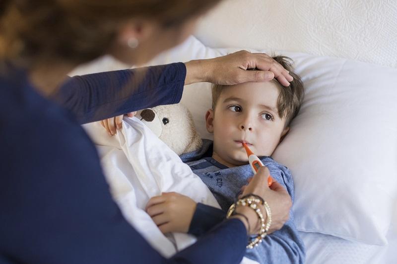 Muerte Infantil por gripe FOTO: Tec Review