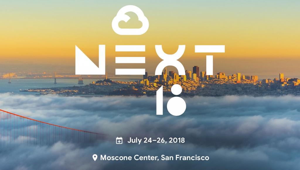 Google Cloud Next '18