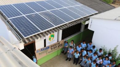 energía solar en escuelas públicas