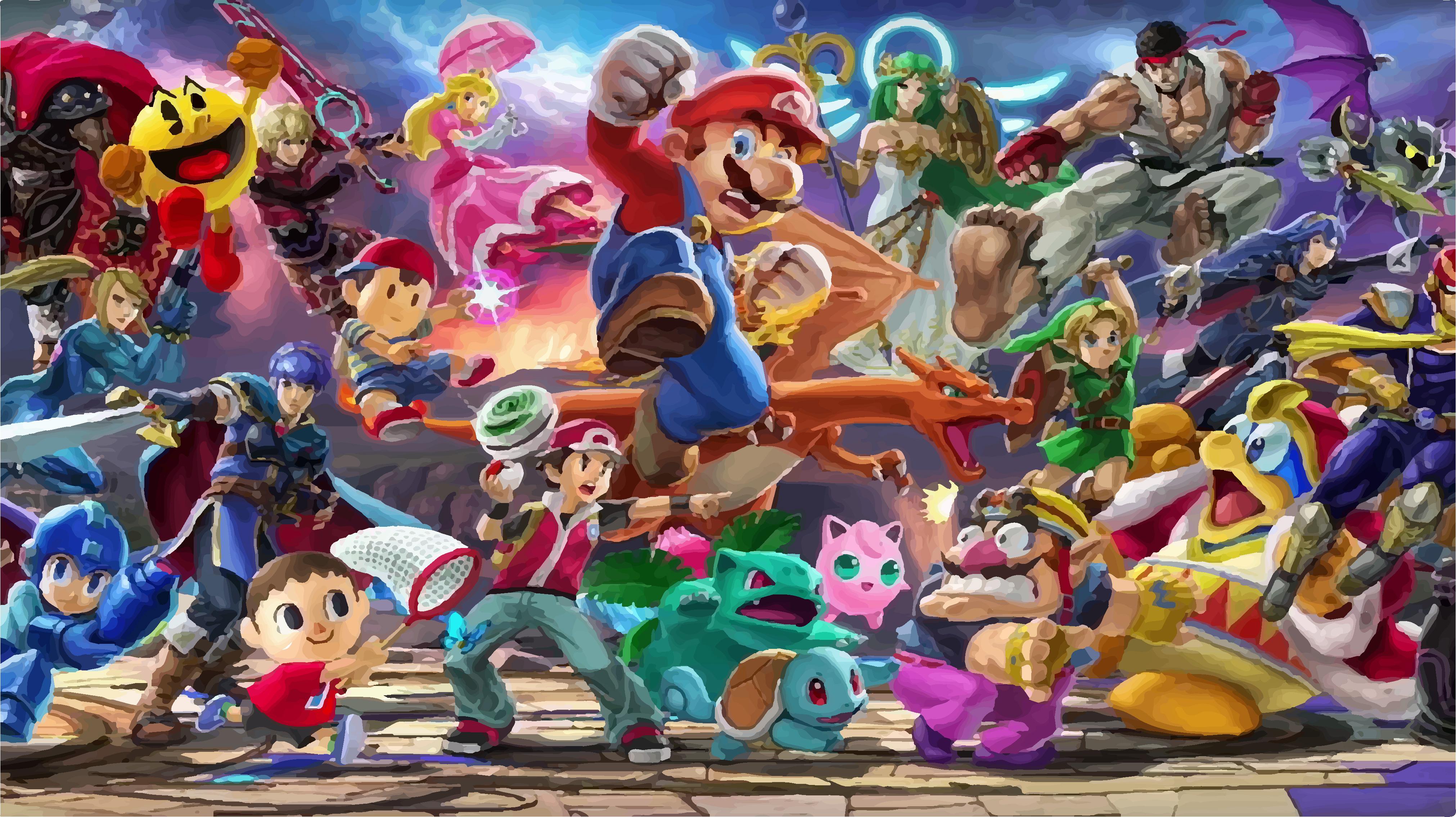 Juego Smash Bros