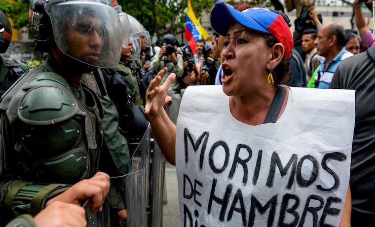 Venezuela tiene hambre