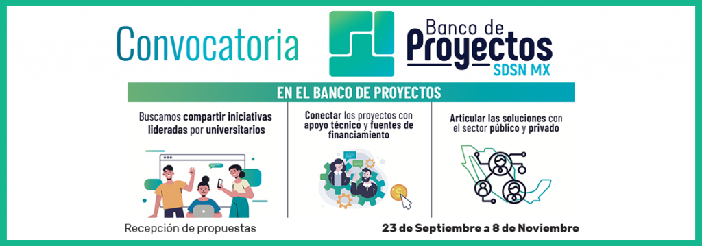 Los proyectos del banco de Proyecto SDSN MX