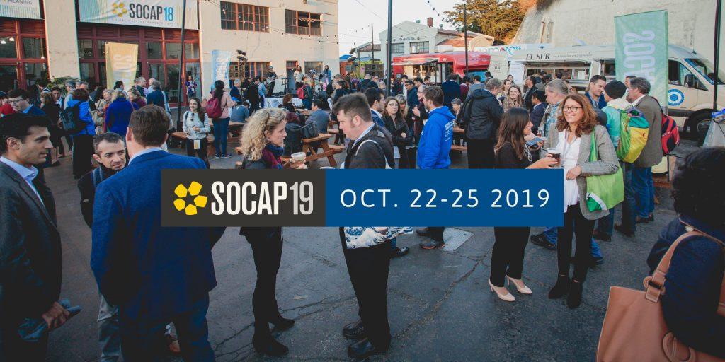 Social Capital Markets transmitirá en vivo el contenido de su evento anual SOCAP19, que tendrá lugar del 22 al 25 de octubre en San Francisco.