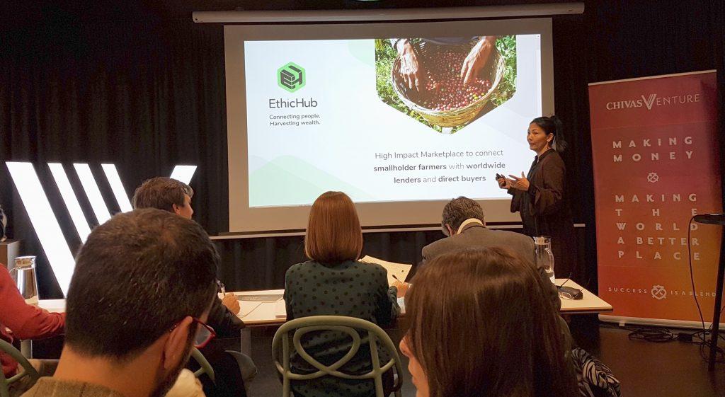 Ethic Hub, emblemática startup de la comunidad de Colaborativo, competirá con otros 25 proyectos de todo el mundo para conquistar al premio Chivas Venture 2020, uno de los más importantes en el mundo de impacto social.