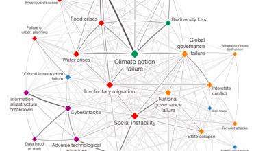 El Foro Económico Mundial publicó su Global Risks Report. Por la primera vez, el cambio climático esta destacado como la amenaza sistémica más probable.