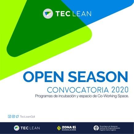 ¿Tienes una startup y te gustaría llevarla al siguiente nivel? Se parte de los programas Tec Lean y aplica antes del 17 de enero.