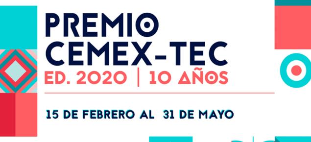 Aplica al Premio Cemex-TEC, un concurso anual, de alcance global sobre emprendimiento, innovación y desarrollo sostenible