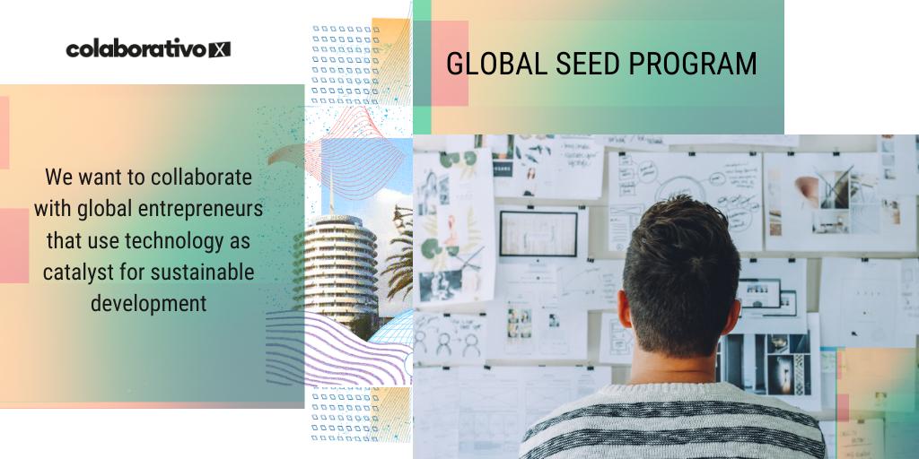 Invitamos a los emprendedores del cambio a sumarse a COLABORATIVOx, nuestra aceleradora de startups de impact tech. ¿Listxs para aplicar?